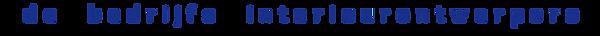 Logo SB de bedrijfs interieurontwerpers