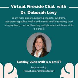 613 Fireside Chat (Dr. Deborah Levy)