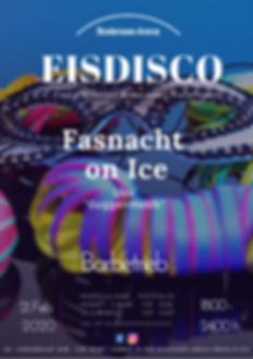 Eisdisco Fasnacht, Kreuzlingn, Bodensee-Arena, Eislaufen, Eisdisco, Party, Guggenmusik, Fasnacht, Mäschgerle on Ice,