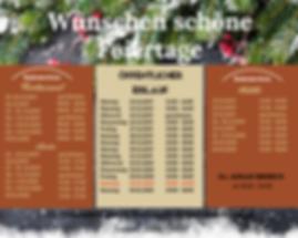 Eislauf, Öffnungszeiten, Restaurant, Hotel, Weihnachten, Neujahr