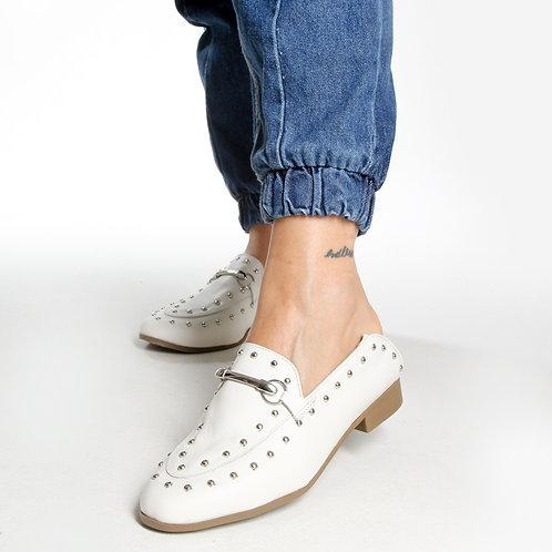 Loafer Couro Branco