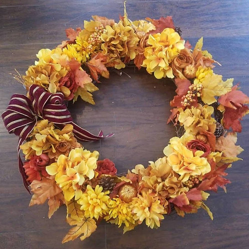 "24"" Fall Wreath"