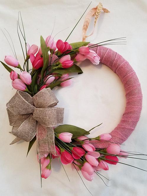 Tulip Wreath (Side Sway)
