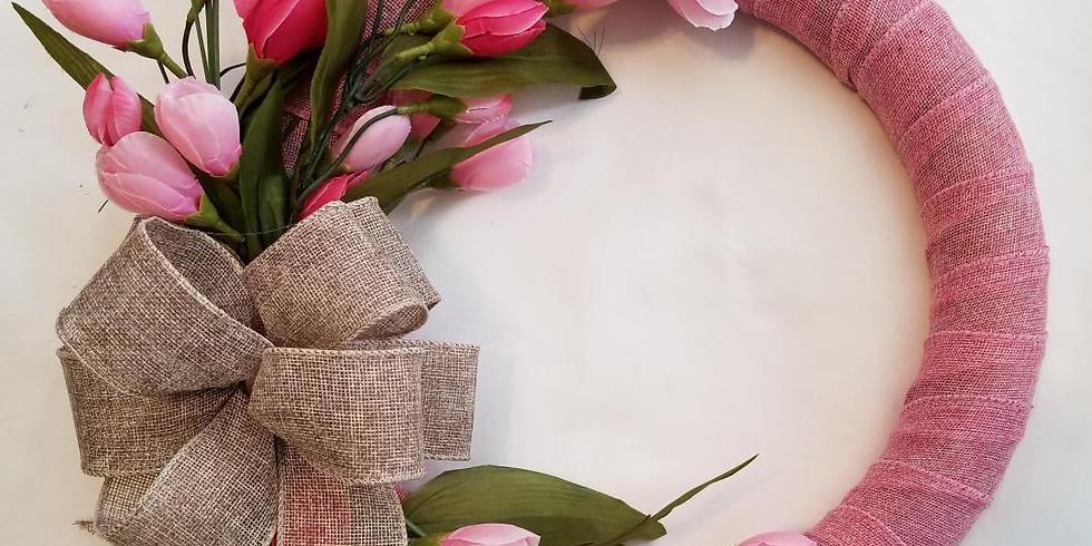 DIY Spring Tulip Wreath 02/20 @ 2pm