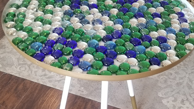 Glass Gem SIde Table 04/10 @ 2pm