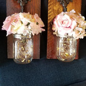 Lighted Wall Sconces