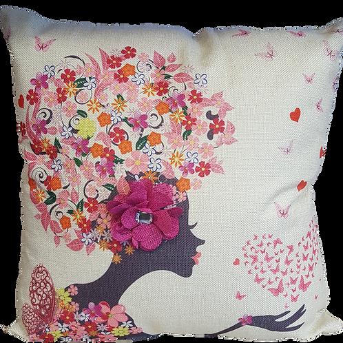 Floral Head Cushion