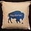 Thumbnail: 'Hug a Buffalo' Pillow