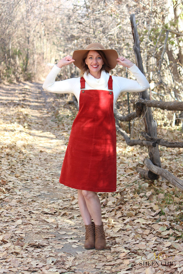 DIY: The Perfect Rusty Red Corduroy Jumper!