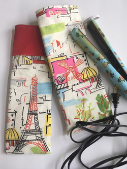 Curling Iron Cozy perfect for travel