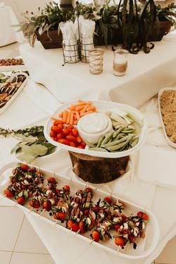 Create a Multi-Layer Food Table