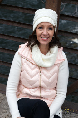 Puffy Pink Vest outfit