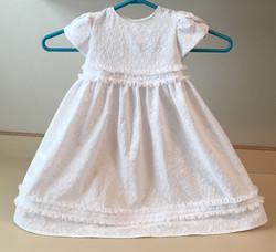 Baby blessing dress DIY