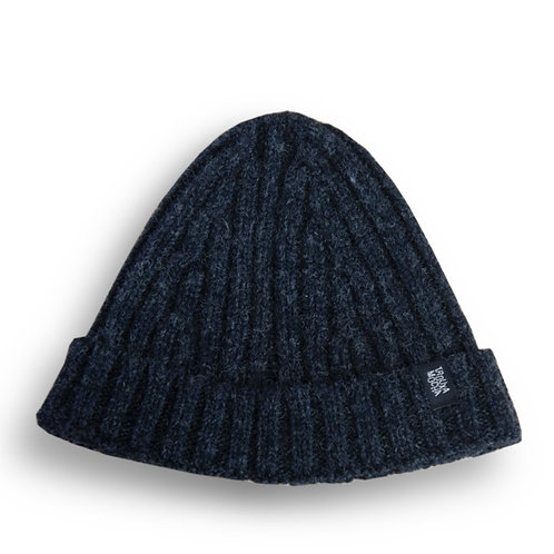 Knitted cap by Trouxa Mocha [anthracite]