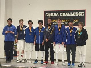 Congratulations to Michael Kang for the top 8 finish at the Cobra Super Youth Circuit.