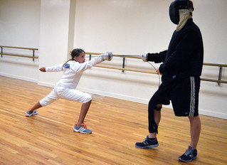 Rockland Fencers Club Was Hard At Work Over The Weekend