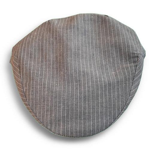 Portuguese flat cap [brown stripes]