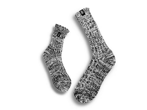 Fisherman Socks  by Trouxa Mocha [grey]