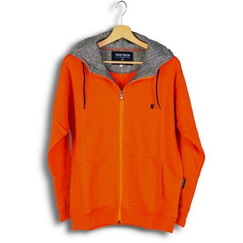 Classic Zip Hood Orange