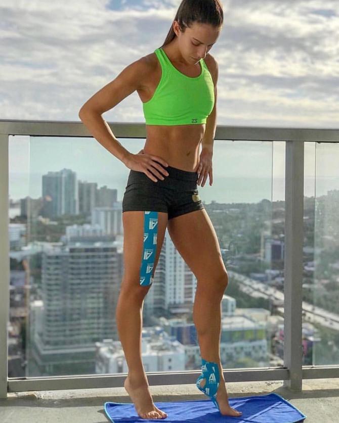 PT & Marathon Runner Stephanie Pi uses AI Tape