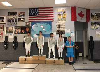 RFC Youth Foil Continue to Medal