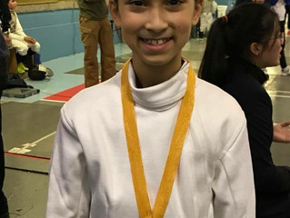 3 Gold Medals by RFC Fencers