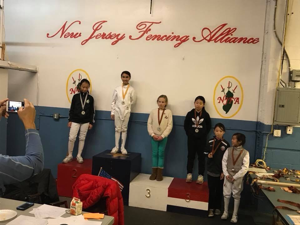Layla Roy Medal Stand