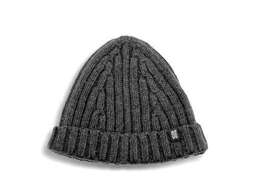 Knitted cap by Trouxa Mocha [black]