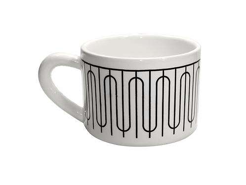 Coffee mug by Trouxa Mocha [Santa Clara bridge]