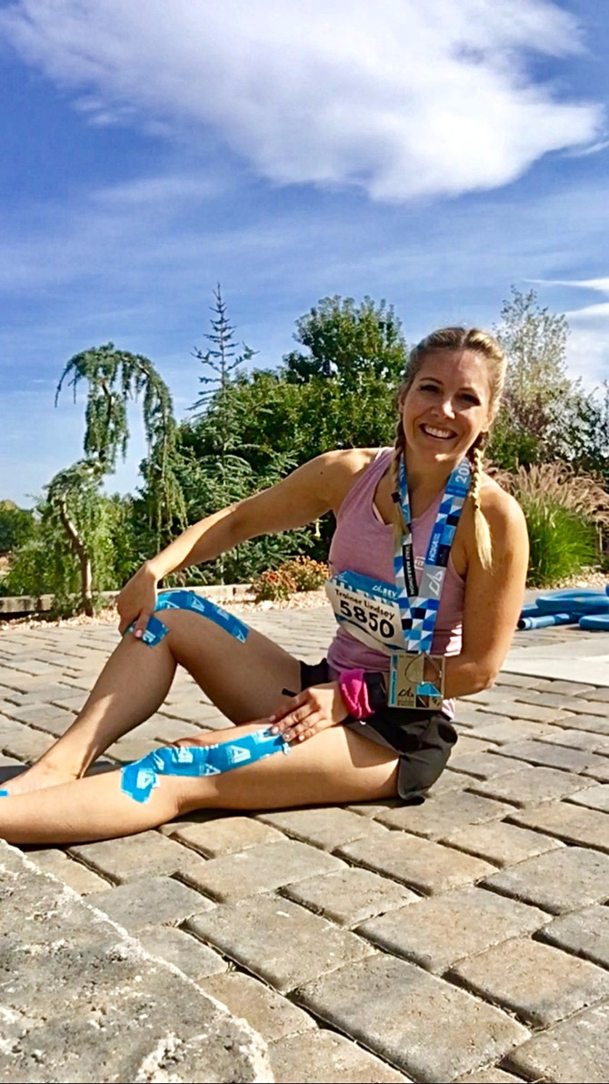 Lindsey Mathews Uses AI Tape: Head Trainer and Nutritionist for IdealFit