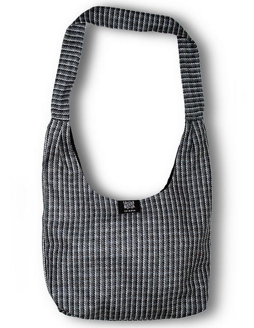Trouxa Mocha grey shoulder bag