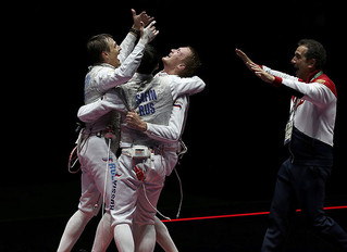 Day 7 Olympic Fencing: Men's Foil Team