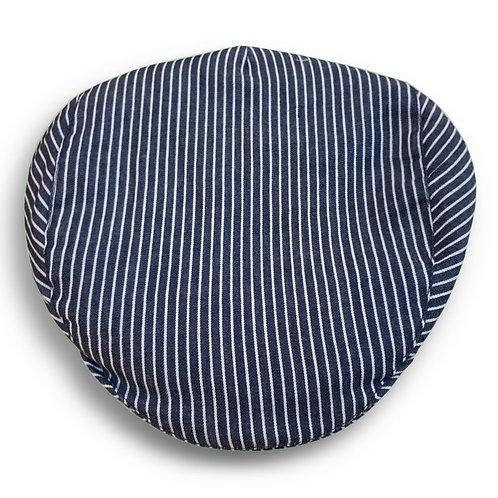 Portuguese flat cap [white stripes]