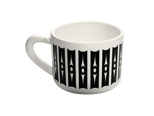 Coffee mug by Trouxa Mocha [tiles]