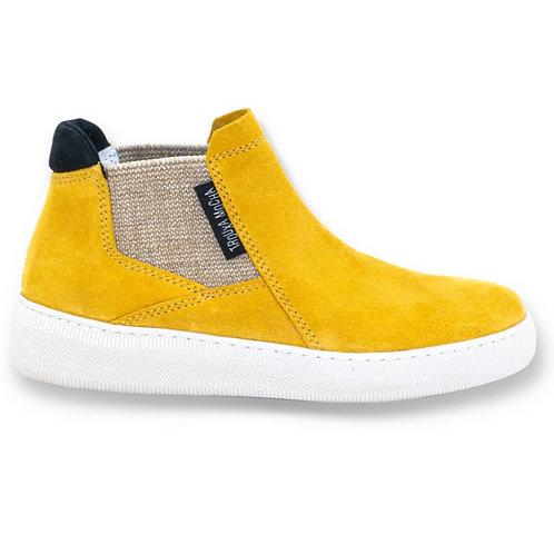 Sneaker Boot Yellow