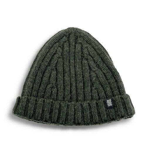 Knitted cap by Trouxa Mocha [green]