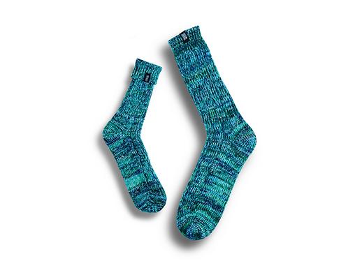 Fisherman Socks  by Trouxa Mocha [green]