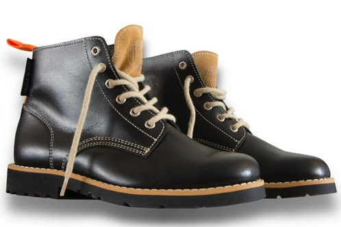 Black raw Boots [B] - LIMITED EDITION