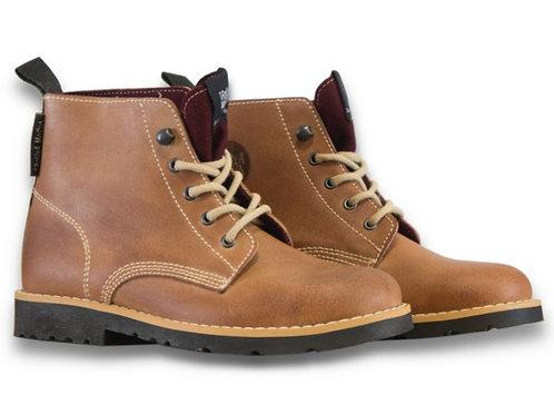 Boots with burgundy burel [BG]