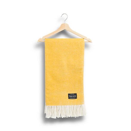 cotton blanket - yellow