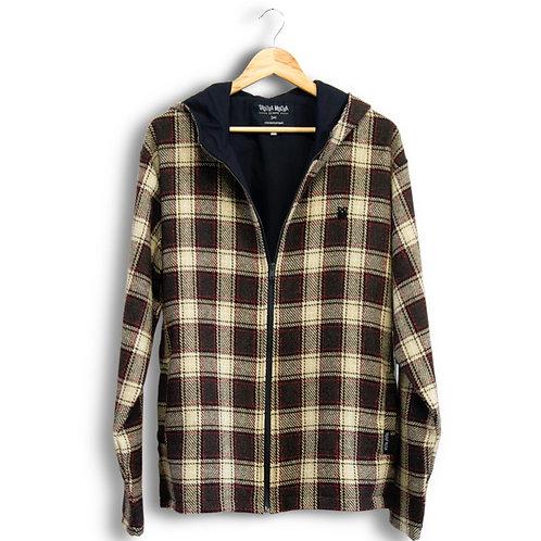 hooded jacket - wool