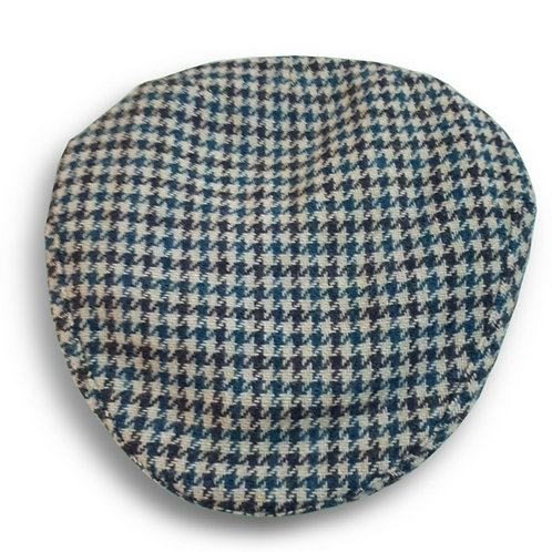 Portuguese flat cap [pied-de-poule]