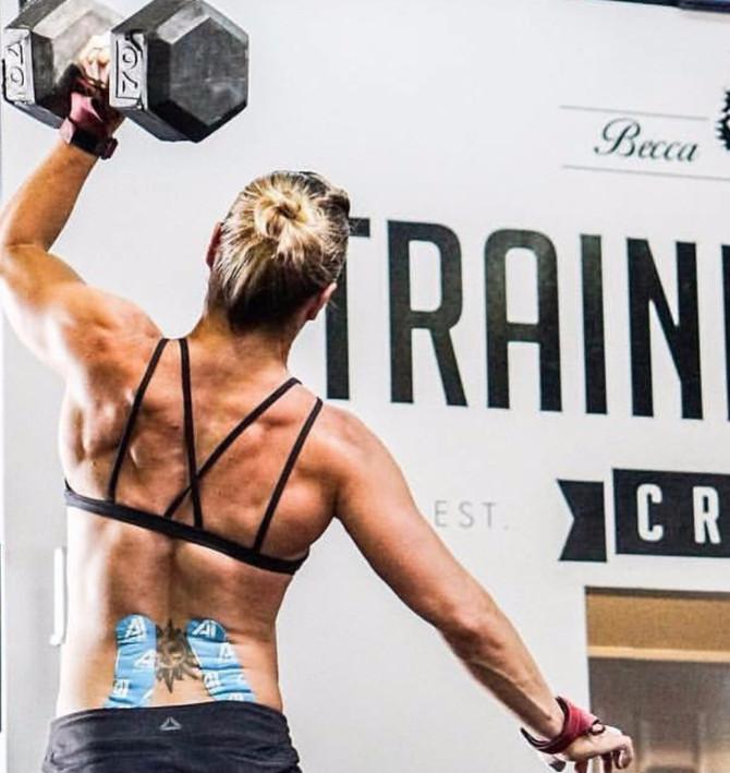 CrossFit Legend Becca Voigt tries AI Tape