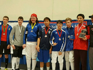 SYC Success for the Rockland Fencers Club