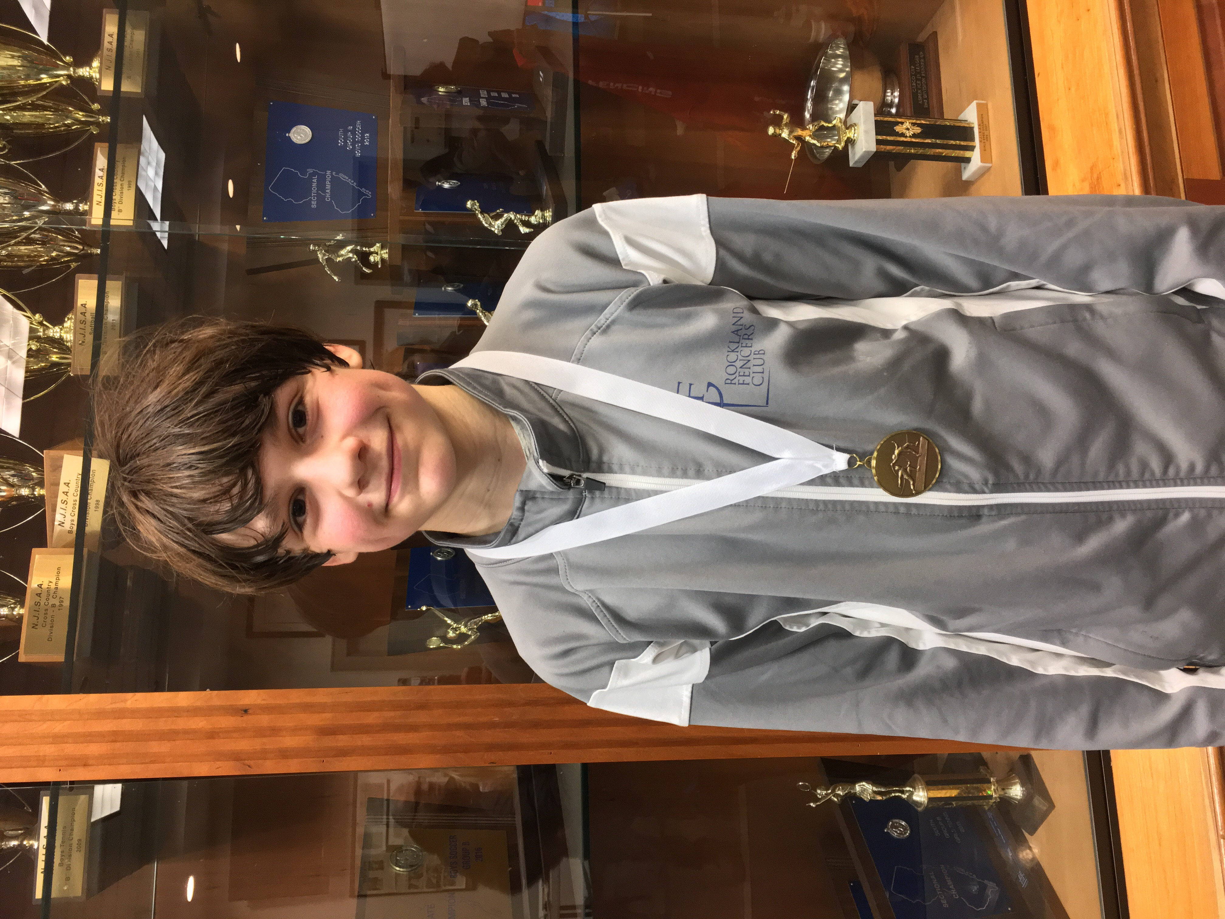 Logan Bobrow RFC Fencer