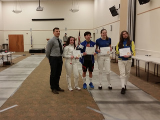 The Rockland Fencers Club Hosted a Great Fencing Tournament