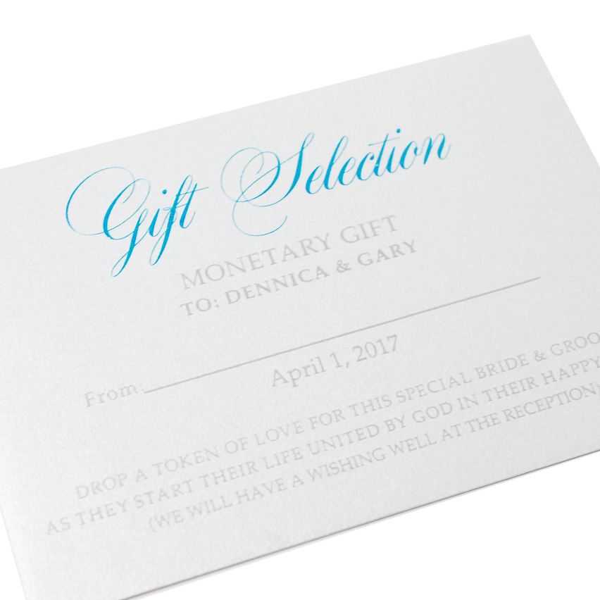 Gift Selection - Monetary Envelope