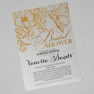Vanessa Bridal Shower Invite