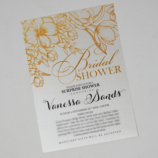Vanessa Bridal Shower Invite