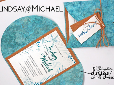 Design Of The Week - Follow Me To The Sea | Lindsay & Michael